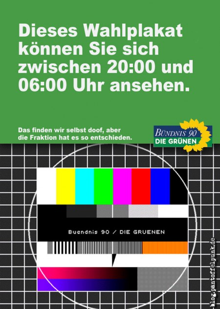 zwischen 20:00 und 6 Uhr