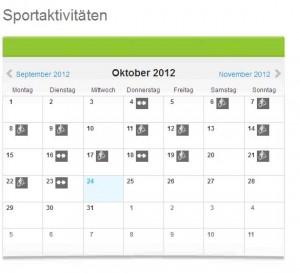 Sport Oktober 2012