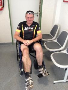 Marathon Neheim - erster! (im Rollstuhl)
