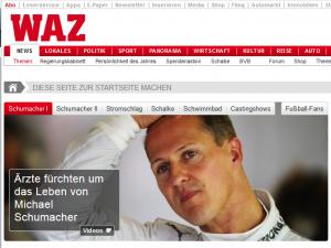 Homepage der Westen am 30.12.13 um 17:20