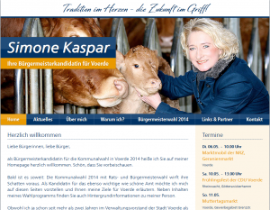 Screenshot der Website am 29.3.14 um 10:30 Uhr