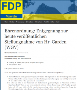 screenshot fdp-voerde.net 30.10.2015