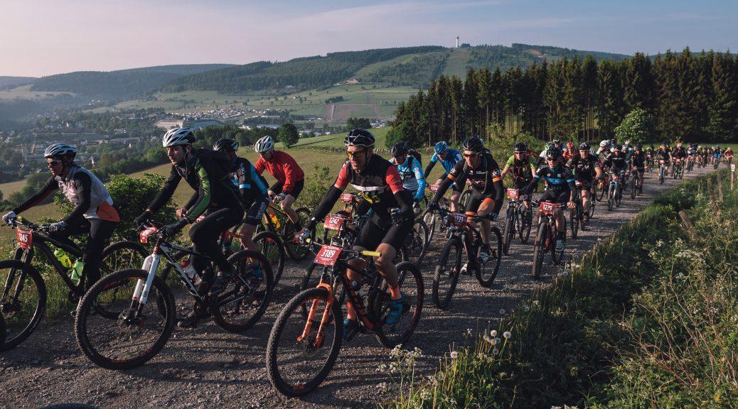 BIKE Festival Willingen 2018 Mountainbike Marathon-Starter © Miha Matavz