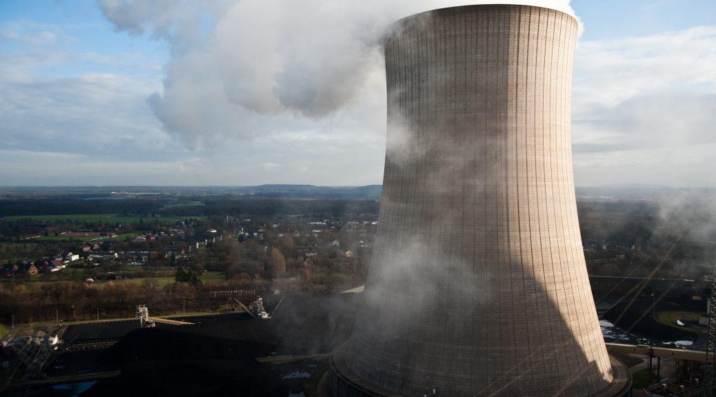 Kohle-Kraftwerk der Steag in Voerde