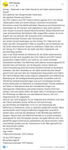 Ergänzungsantrag FDP und CDU