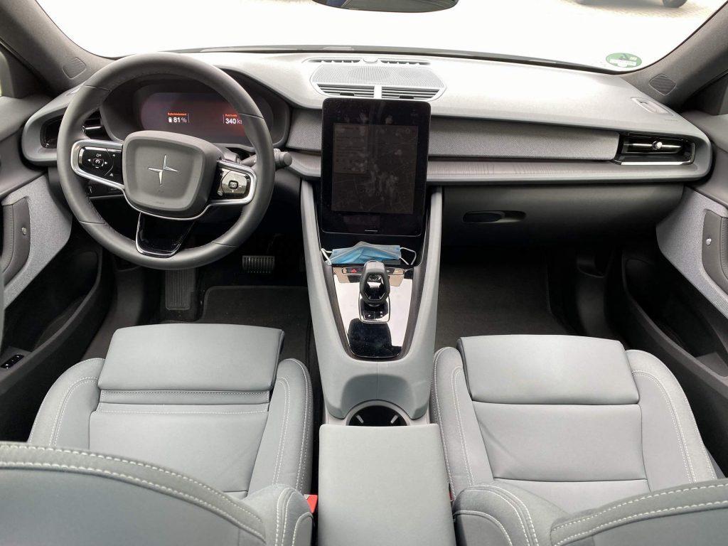 Der Polestar von Innen - unverwechselbar ein Volvo